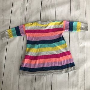 GAP Dresses - baby GAP Striped Sweater Knit Dress, 3-6 months
